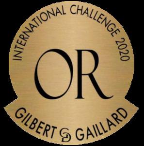 Médaille or Gilbert et Gaillard 2020